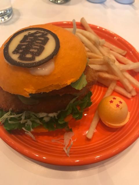 ドラゴンボールハンバーガー